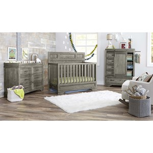 Baby Bedroom Group with Crib