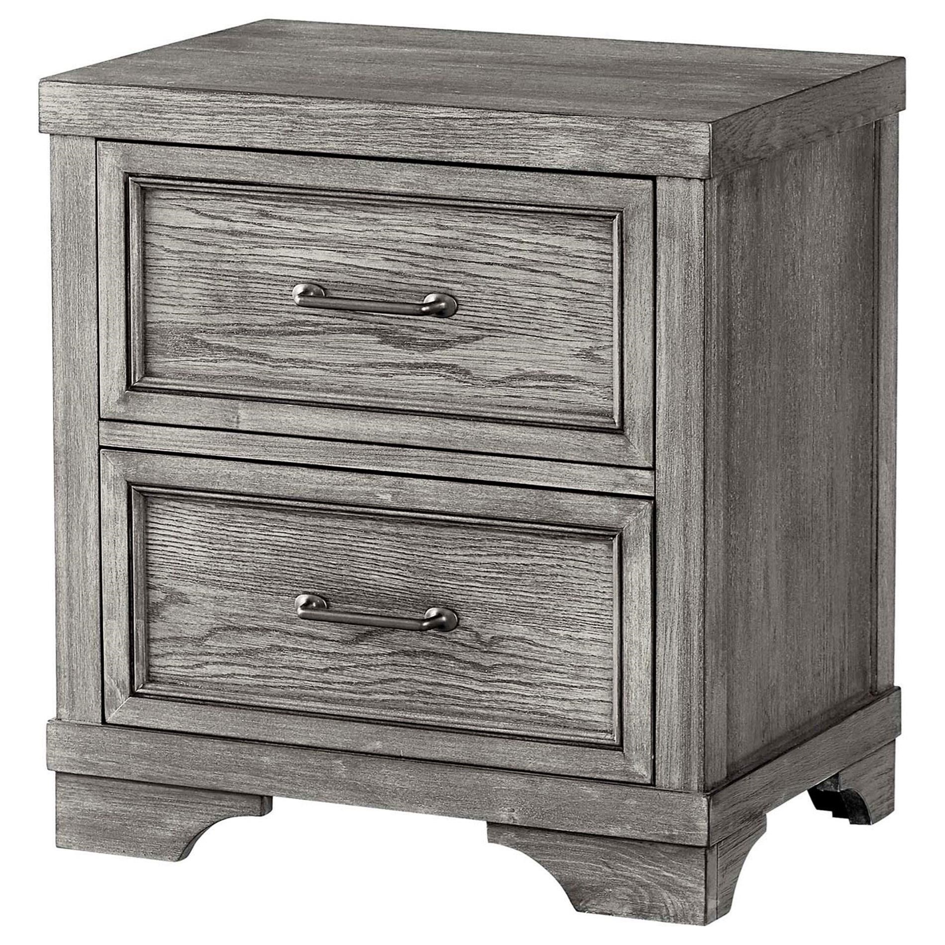 Foundry 2 Drawer Nightstand by Westwood Design at Darvin Furniture