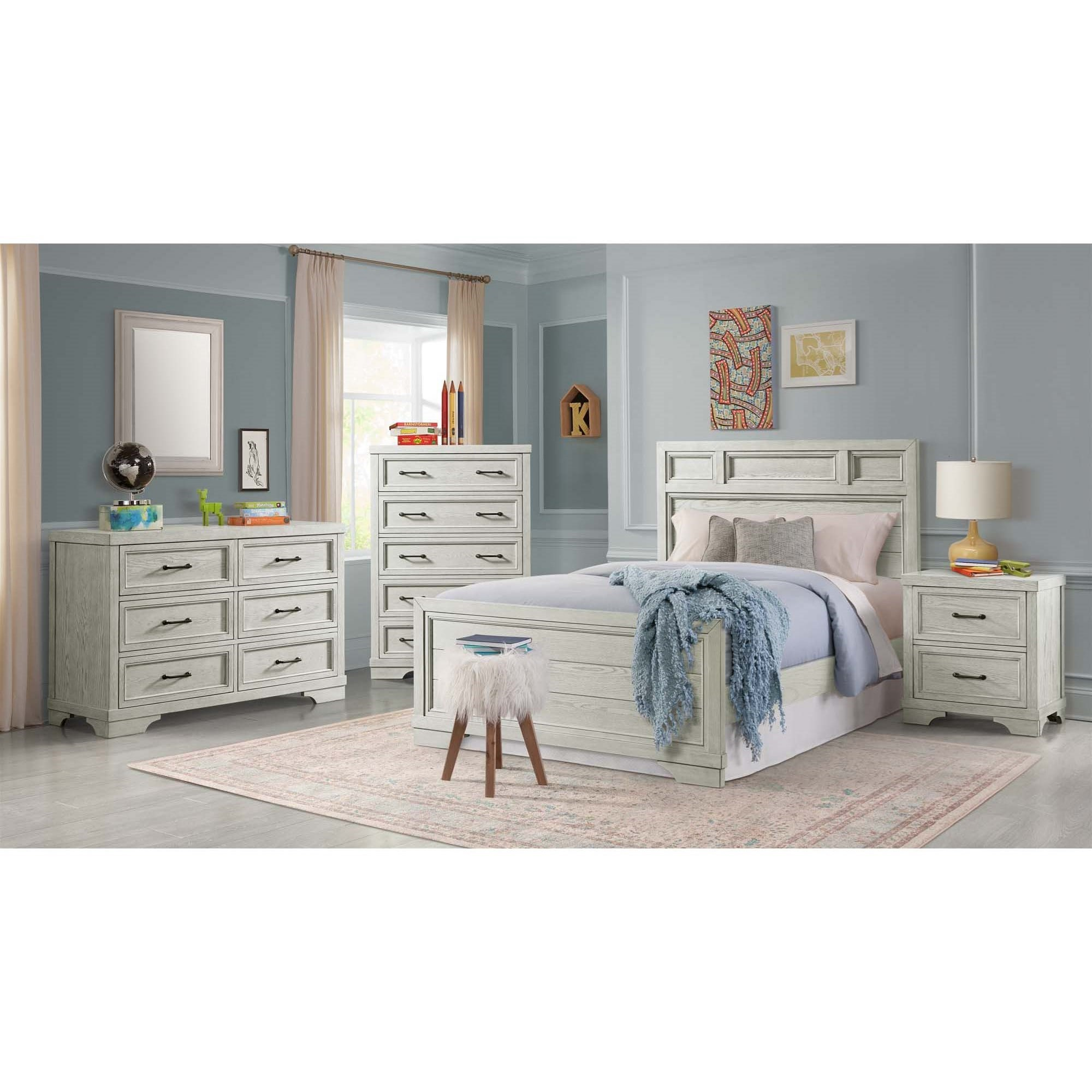 Foundry Full Bedroom Group by Westwood Design at Virginia Furniture Market