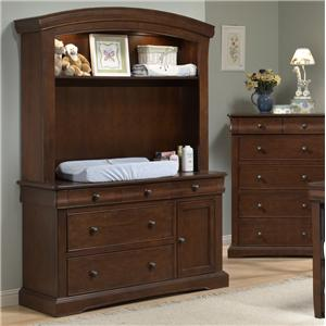 Westwood Design Stratton Dressing Combo Plus with Hutch