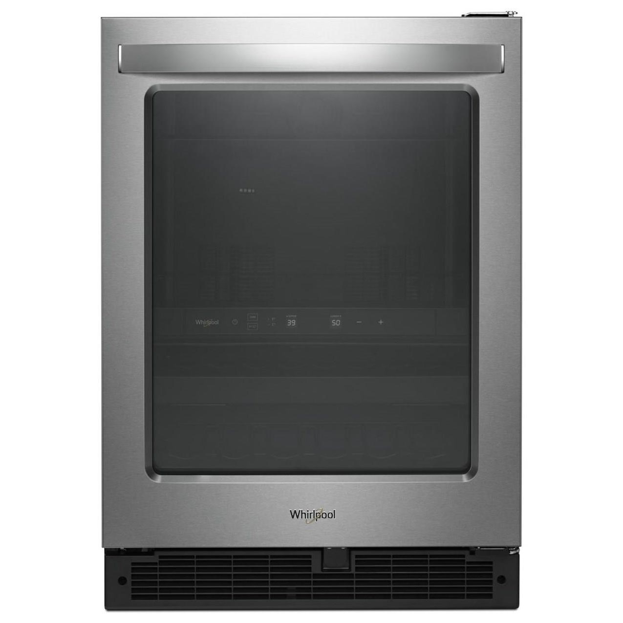 """All Refrigerators 5.2 Cu. Ft. 24"""" Undercounter Beverage Center by Whirlpool at Furniture and ApplianceMart"""
