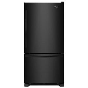 Whirlpool Bottom Freezer Refrigerators - 2014 22 cu. ft. Bottom-Freezer Refrigerator with