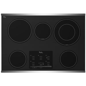 "Whirlpool Electric Cooktop 30"" Built-In Electric Cooktop"