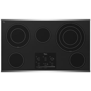 "Whirlpool Electric Cooktop 36"" Built-In Electric Cooktop"