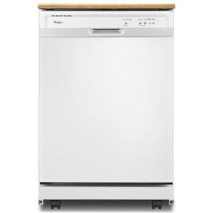 Whirlpool Dishwashers - Whirlpool 1-Hour Wash Cycle Portable Dishwasher