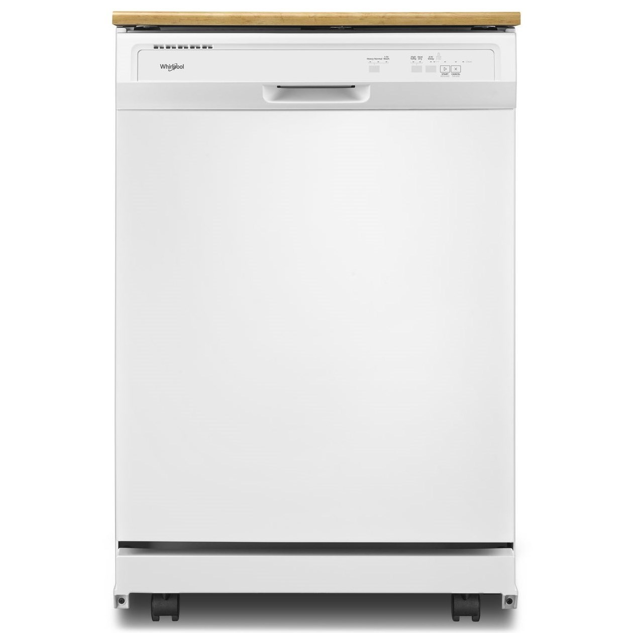 Dishwashers - Whirlpool Heavy-Duty Dishwasher with 1-Hour Wash Cycle by Whirlpool at Wilcox Furniture