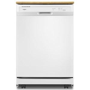 Whirlpool Dishwashers - Whirlpool Heavy-Duty Dishwasher with 1-Hour Wash Cycle
