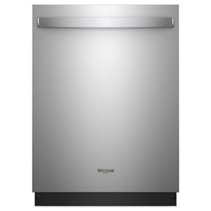 Whirlpool Dishwashers - Whirlpool Stainless Steel Tub Dishwasher with Third Le