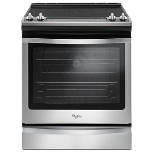 Whirlpool Electric Ranges 6.4 Cu. Ft. Slide-In Electric Range