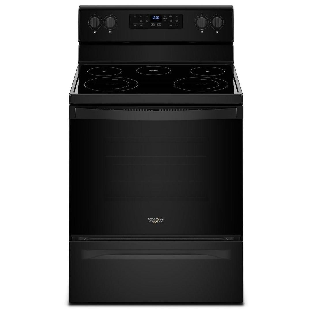 Electric Ranges 5.3 cu. ft. Freestanding Electric Range with by Whirlpool at Wilcox Furniture