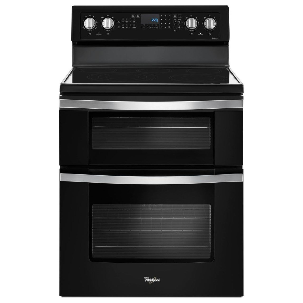 Electric Ranges 6.7 Cu. Ft. Electric Double Oven Range with  by Whirlpool at Wilcox Furniture