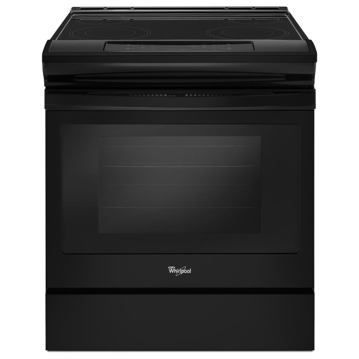Electric Ranges 4.8 cu. ft. Electric Front Control Range by Whirlpool at Westrich Furniture & Appliances