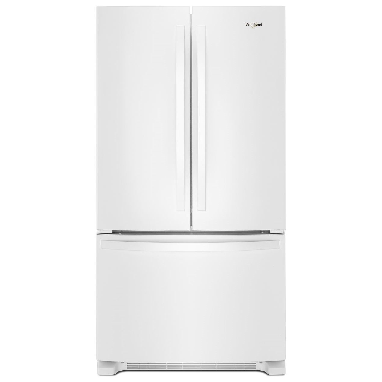 French Door Refrigerators 36-inch Wide French Door Refrigerator by Whirlpool at Furniture and ApplianceMart