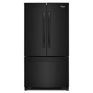 Whirlpool French Door Refrigerators 20 cu. ft. Counter Depth French Door Fridge