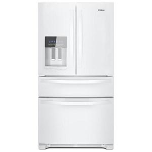 """Whirlpool French Door Refrigerators 25 Cu. Ft. 36"""" French Door Refrigerator"""