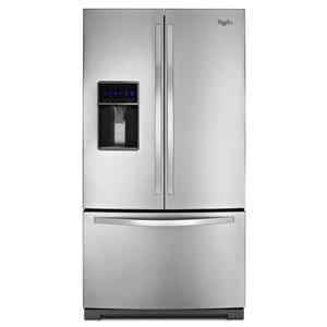 Whirlpool French Door Refrigerators 26 Cu. Ft. French Door Refrigerator