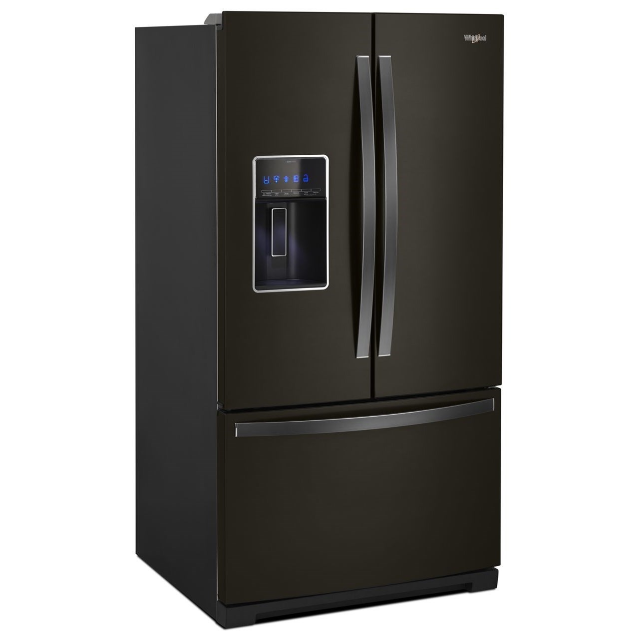 French Door Refrigerators 27 Cu. Ft. French Door Refrigerator by Whirlpool at Wilcox Furniture