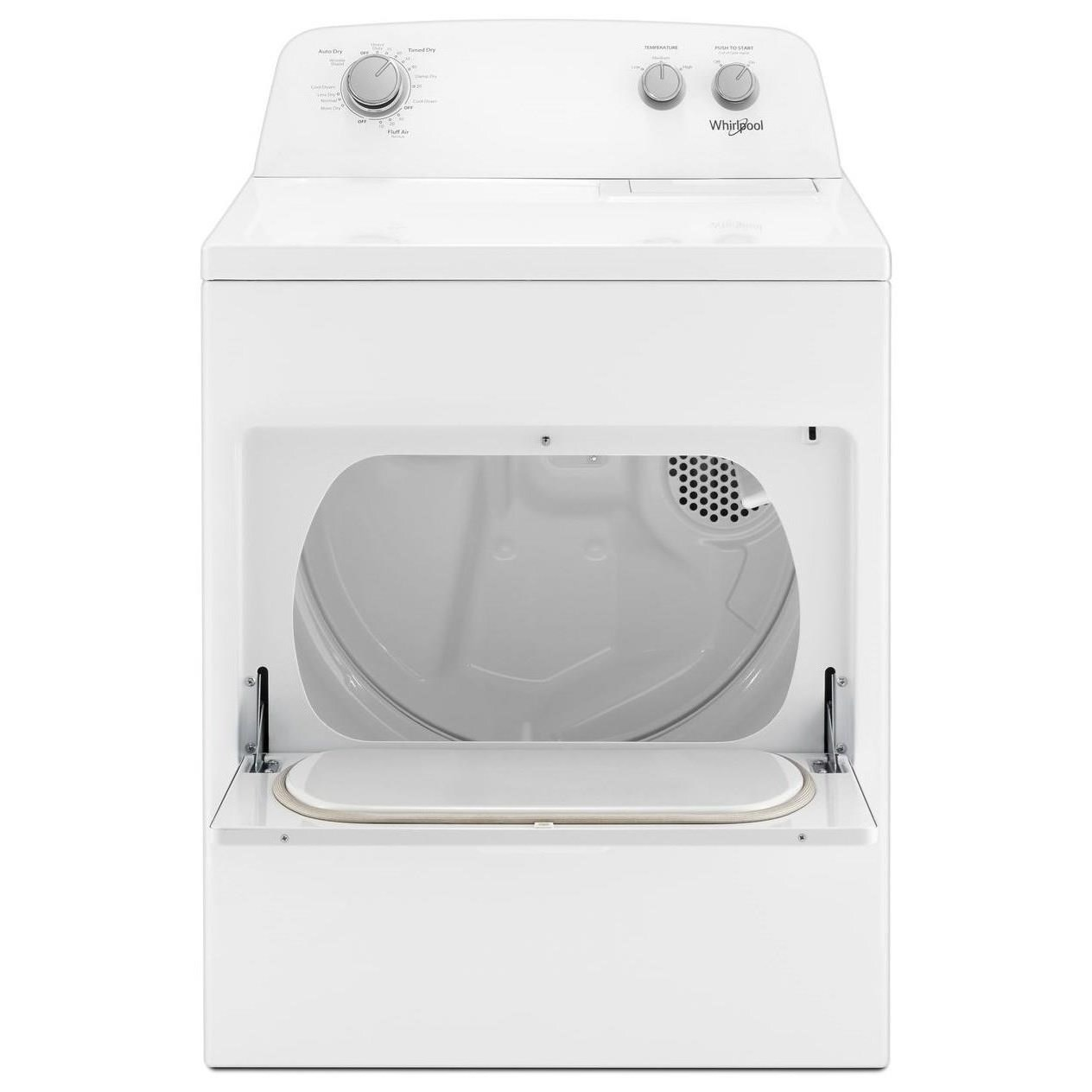 Gas Dryers 7.0 cu. ft. Top Load Gas Dryer by Whirlpool at Wilcox Furniture