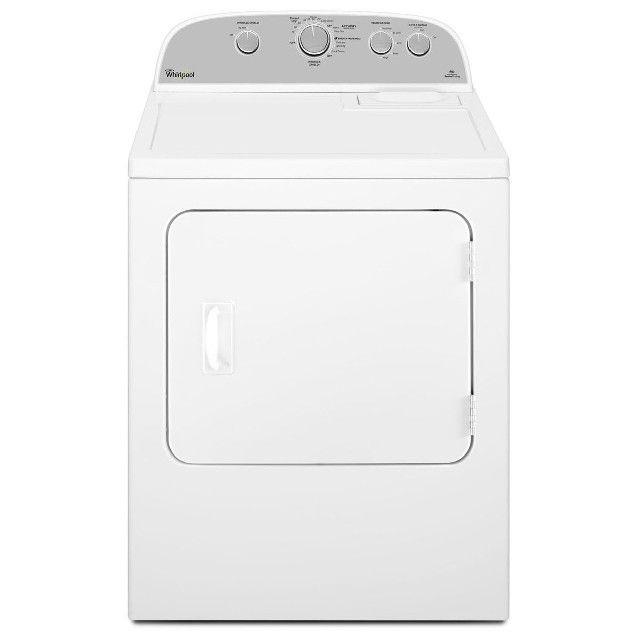 Gas Dryers 5.9 cu. ft. Top Load Gas Dryer by Whirlpool at Furniture and ApplianceMart