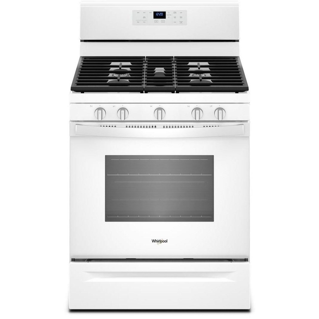 Gas Ranges 5.0 cu. ft. Freestanding Gas Range by Whirlpool at Furniture and ApplianceMart