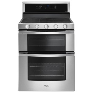 Whirlpool Gas Ranges 6.0 Cu. Ft. Gas Double Oven Range
