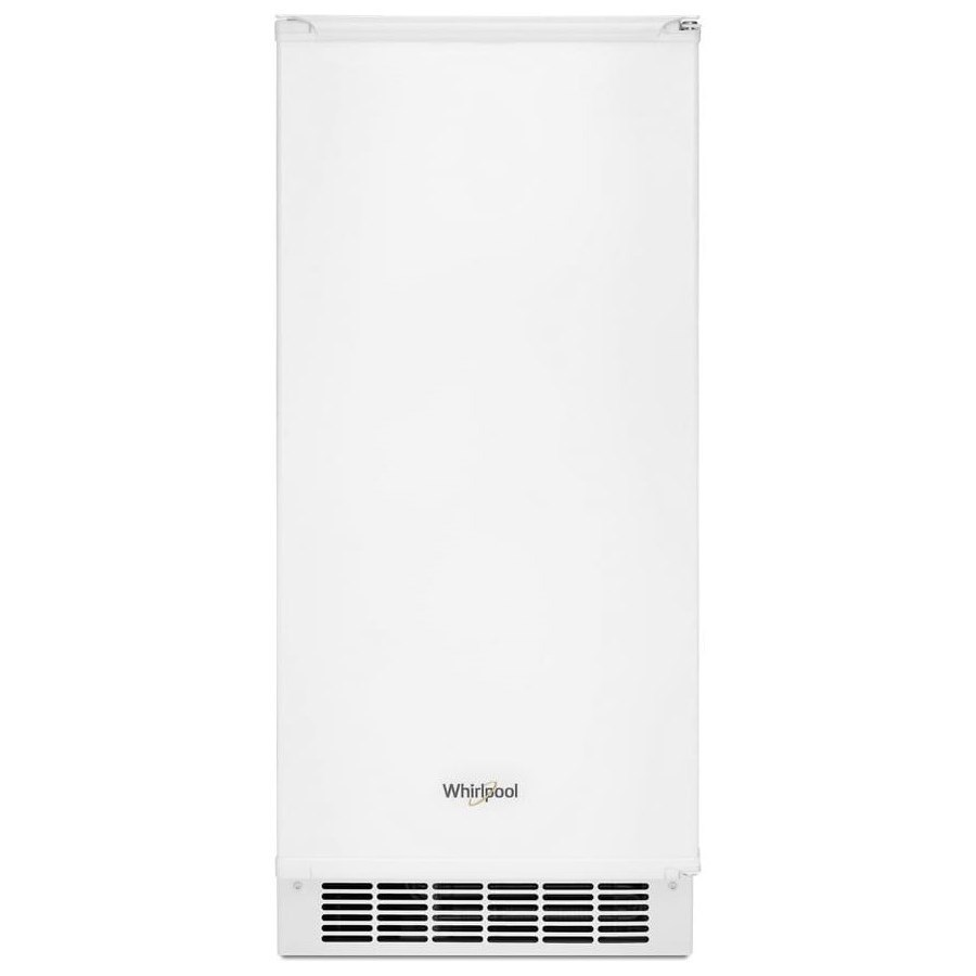 Ice Maker 15-inch Icemaker with Clear Ice Technology by Whirlpool at Furniture and ApplianceMart