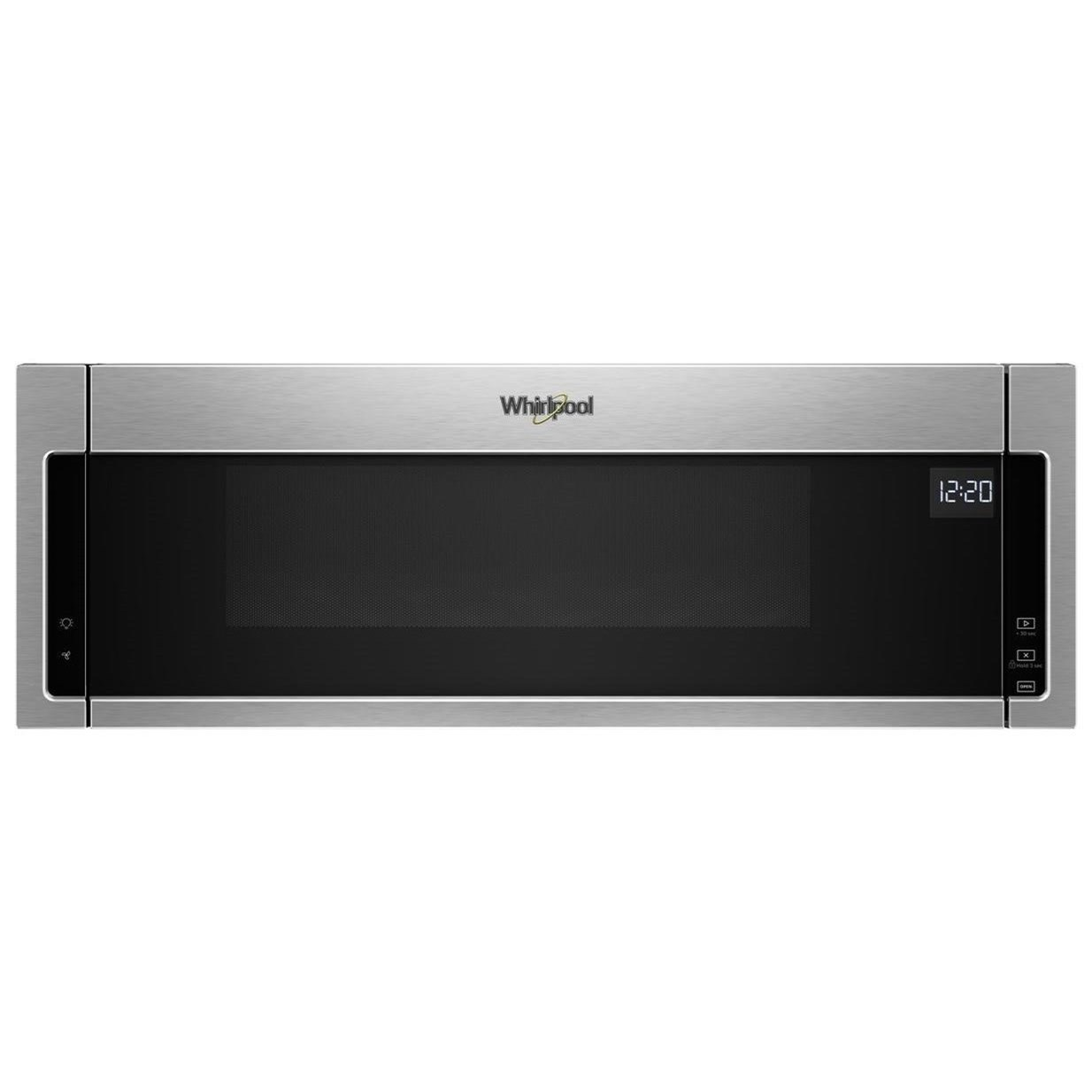 Microwaves - Whirlpool 1.1 cu. ft. Low Profile Microwave by Whirlpool at Furniture and ApplianceMart