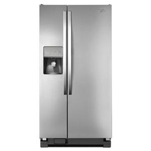 Whirlpool Side by Side Refrigerators 21 cu. ft. Side-by-Side Refrigerator
