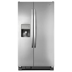Whirlpool Side by Side Refrigerators 25 cu. ft. Large Side-by-Side Refrigerator w