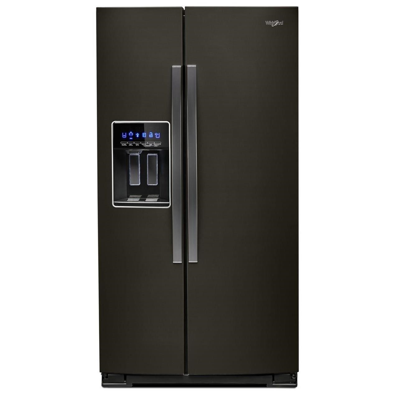 Side by Side Refrigerators 36-inch Wide Side-by-Side Refrigerator by Whirlpool at Furniture and ApplianceMart