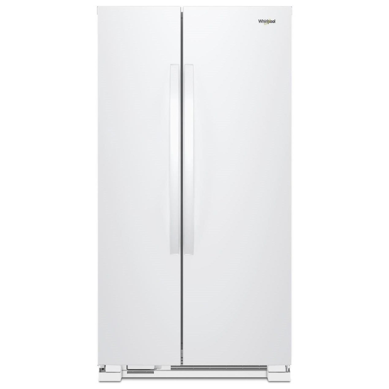 """Side-By-Side Refrigerators 25 Cu. Ft. 36""""Side-by-Side Refrigerator by Whirlpool at Westrich Furniture & Appliances"""