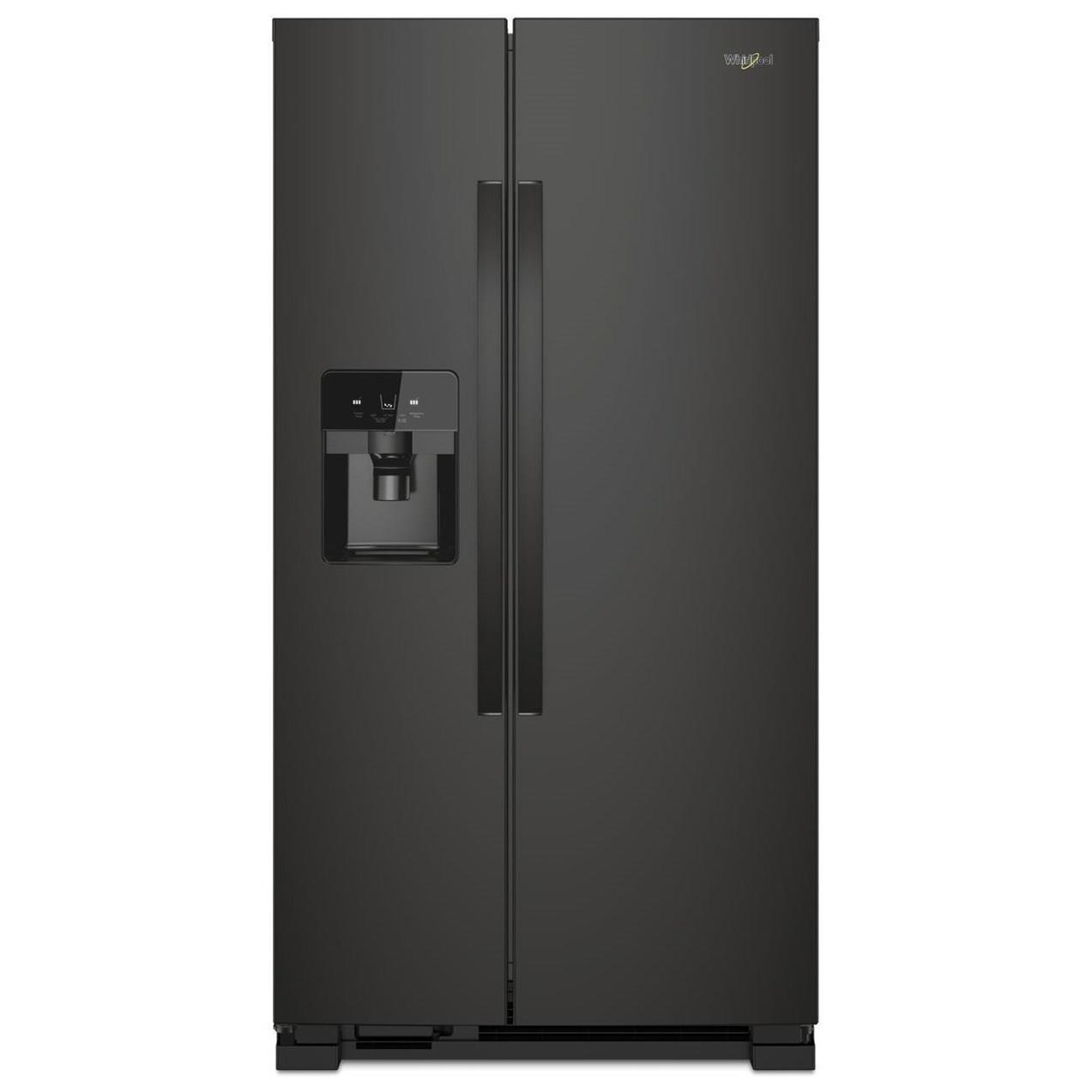"""Side-By-Side Refrigerators 36"""" Side-by-Side Refrigerator by Whirlpool at Story & Lee Furniture"""