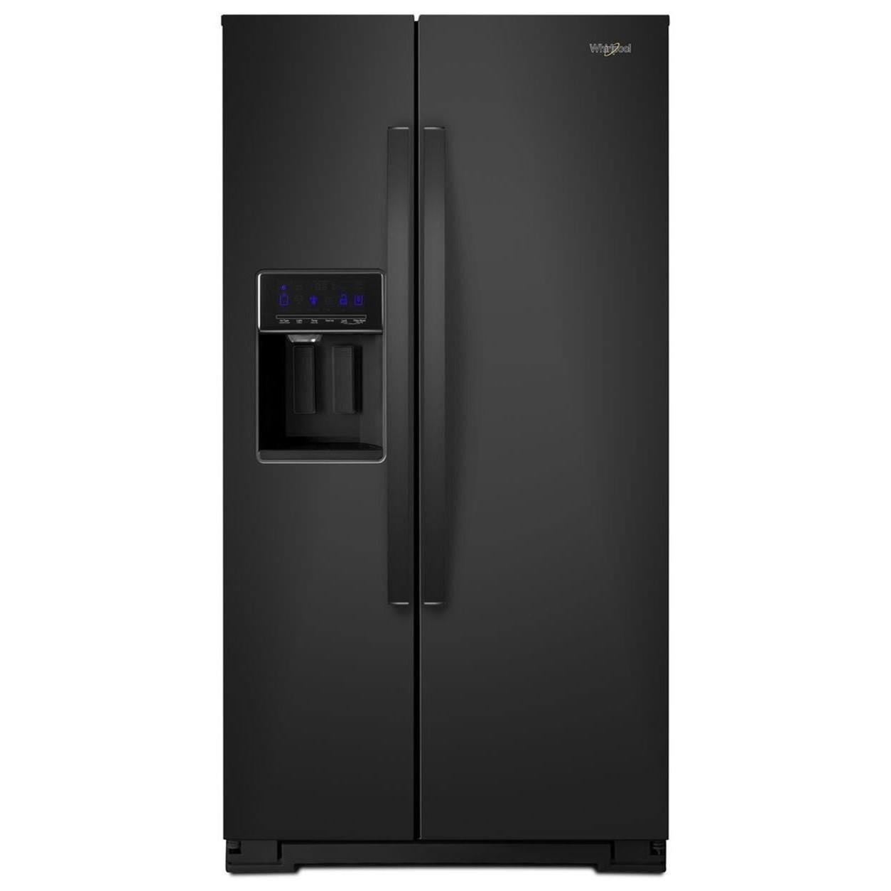 """Side-By-Side Refrigerators 36"""" Wide Counter Depth Side-by-Side Fridge by Whirlpool at Westrich Furniture & Appliances"""