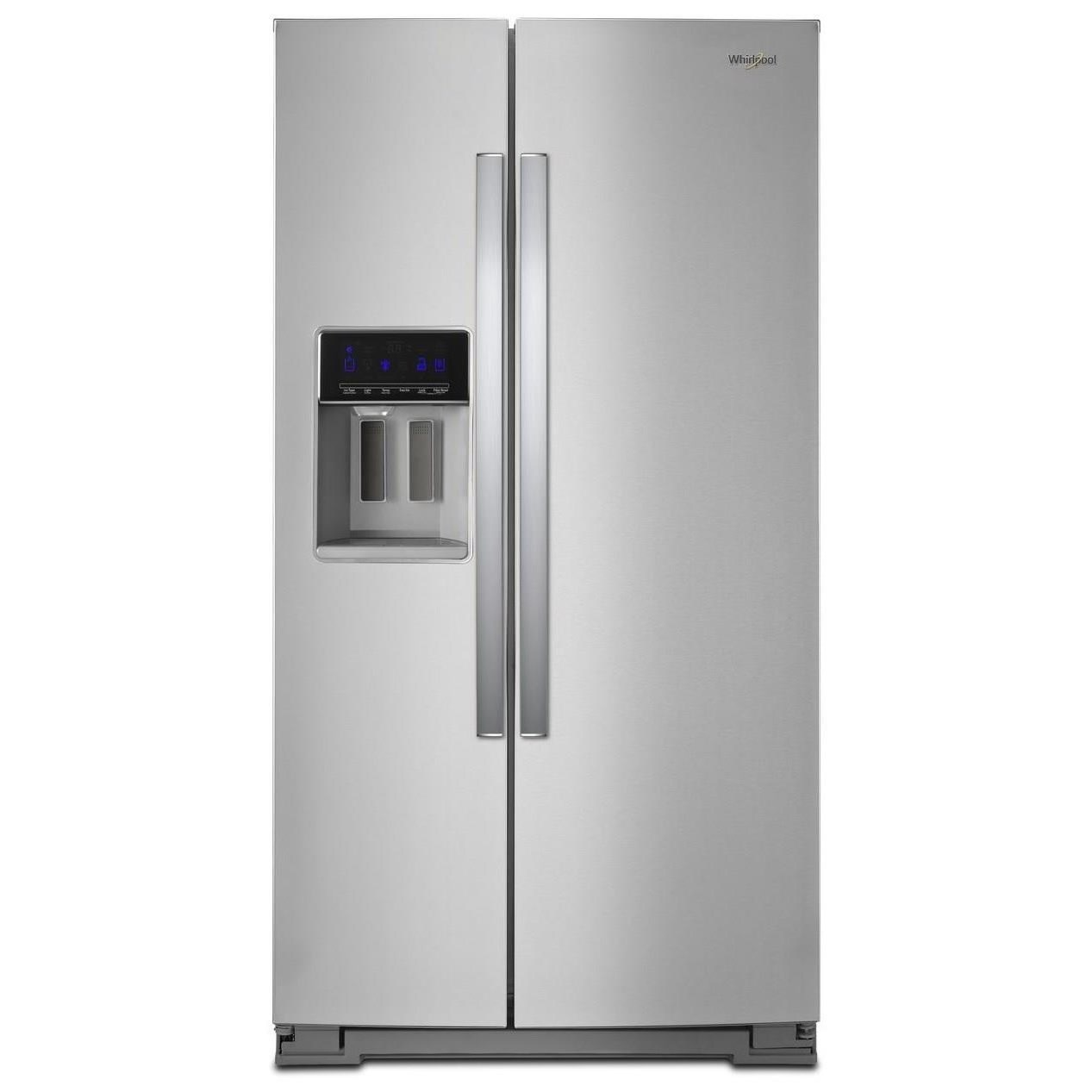 """Side-By-Side Refrigerators 36"""" Wide Counter Depth Side-by-Side Fridge by Whirlpool at Furniture and ApplianceMart"""
