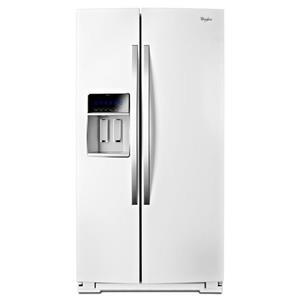"Whirlpool Side-By-Side Refrigerators 36"" Wide Side-by-Side Counter Depth Fridge"