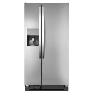 Whirlpool Side-By-Side Refrigerators 22 Cu. Ft. Side-by-Side Refrigerator