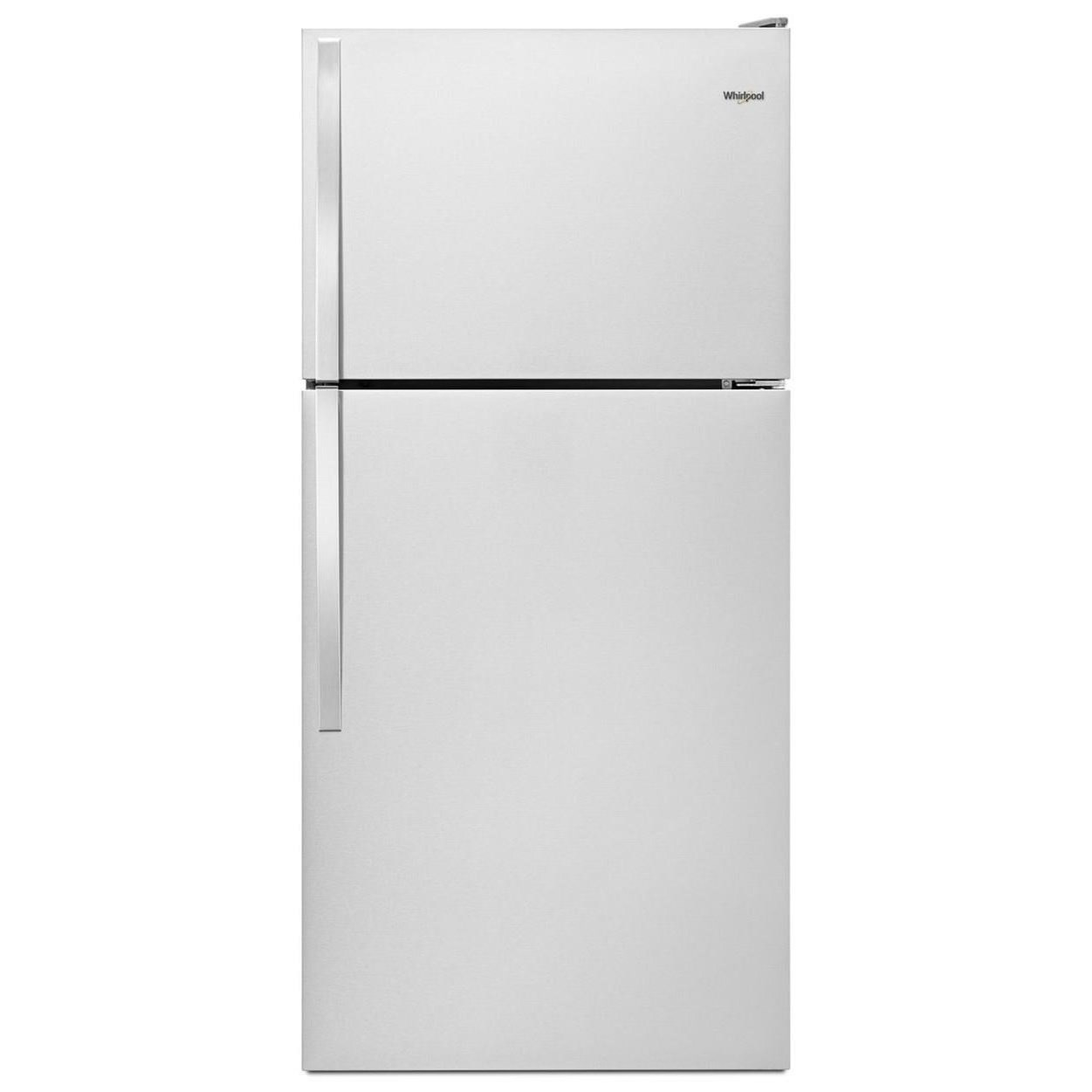 """Top Mount Refrigerators 30"""" Wide Top-Freezer Refrigerator by Whirlpool at Furniture and ApplianceMart"""