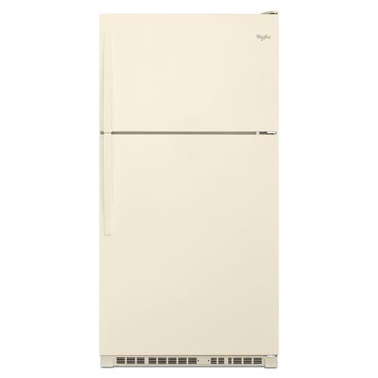 Top Mount Refrigerators 21 Cu. Ft. Top-Freezer Refrigerator by Whirlpool at Furniture and ApplianceMart
