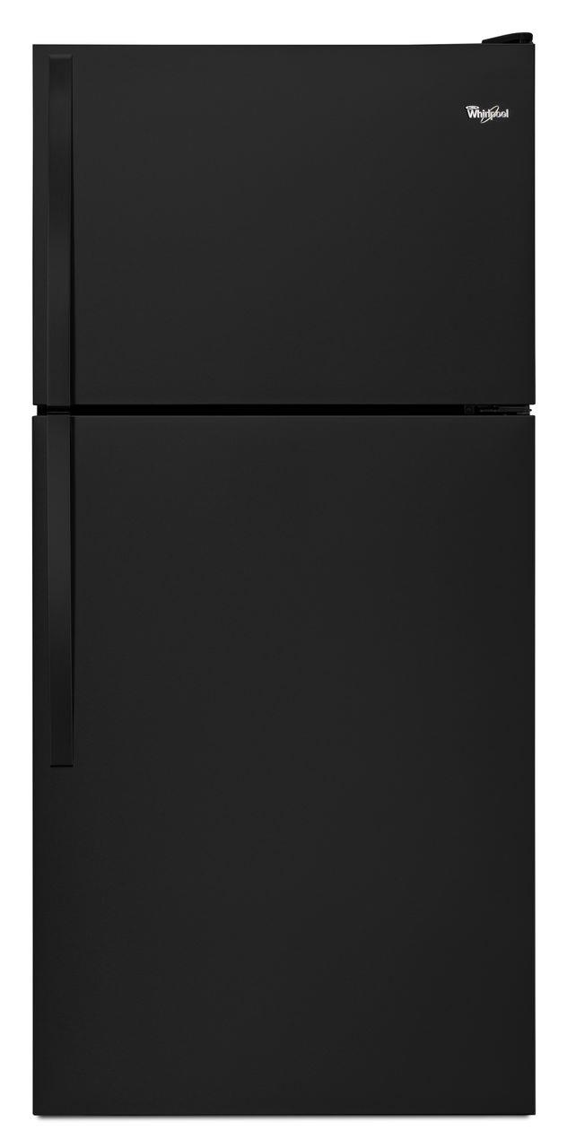 Top Mount Refrigerators 18 cu. ft., 30-Inch Top-Freezer Refrigerator by Whirlpool at Wilcox Furniture