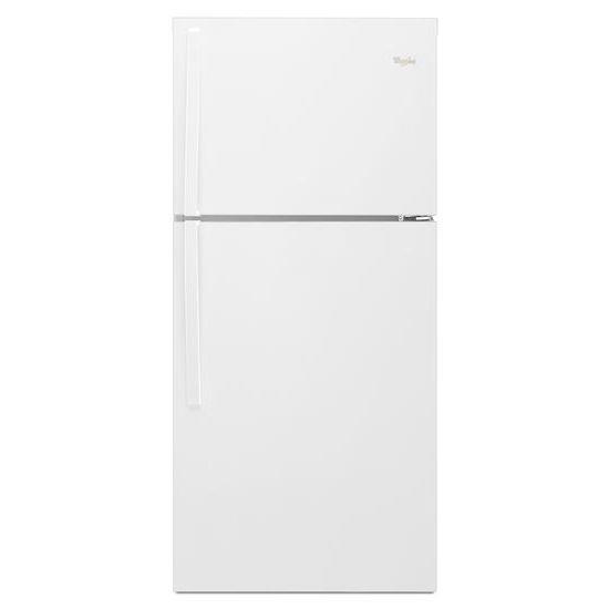 Top Mount Refrigerators 19.2 cu. ft., 30-In Top-Freezer Refrigerator by Whirlpool at Furniture Fair - North Carolina