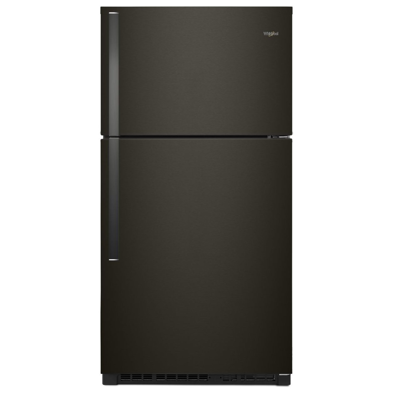 """Top Mount Refrigerators 33"""" Wide 21 Cu. Ft. Top Freezer Refrigerator by Whirlpool at Wilcox Furniture"""