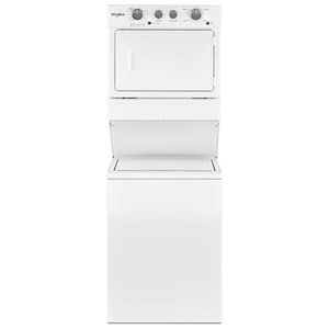 5.9 cu. ft. Top Load Stackable Long Vent Electric Washer Dryer