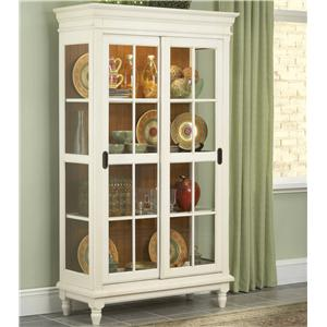Whitewood Dining Room Pieces Curio Cabinet