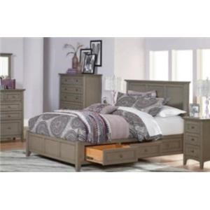King Bedroom Group with Petite Headboard