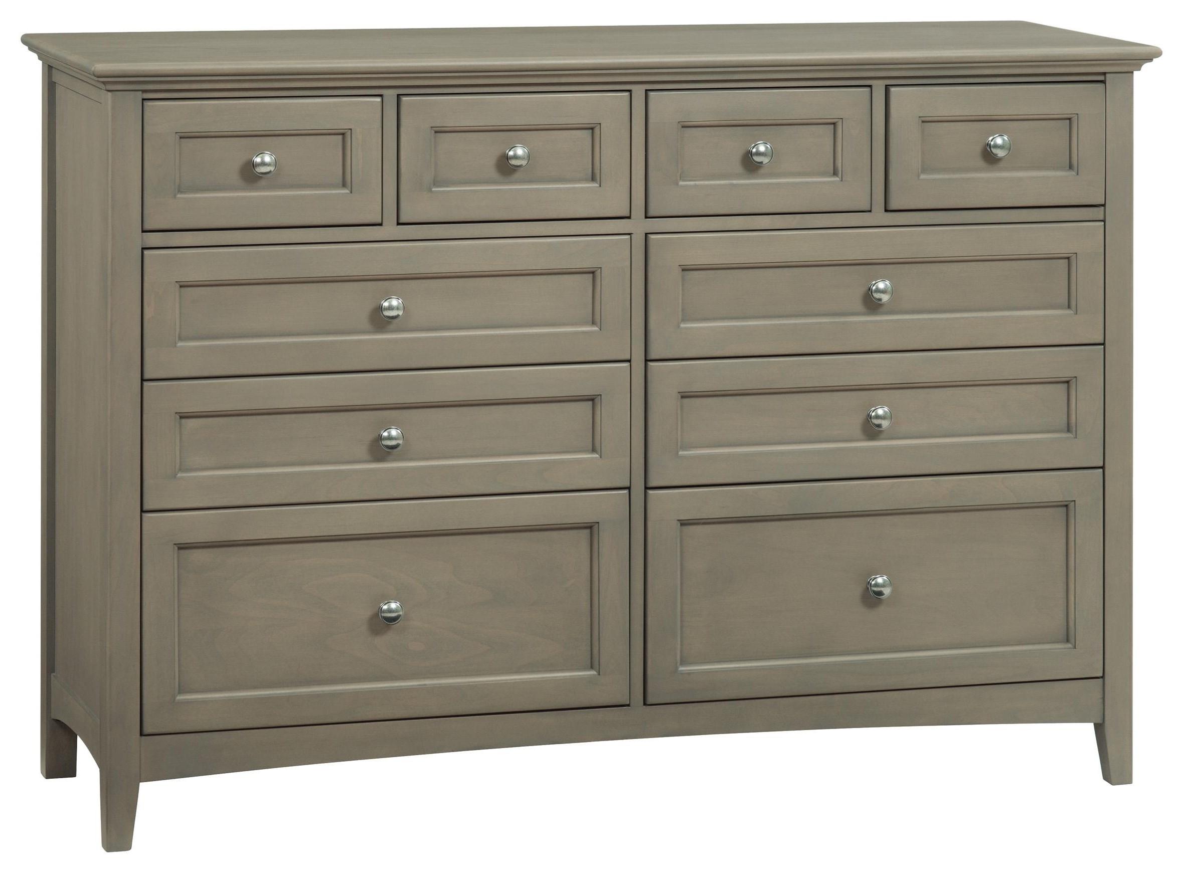McKenzie Dresser by Whittier Wood at Crowley Furniture & Mattress