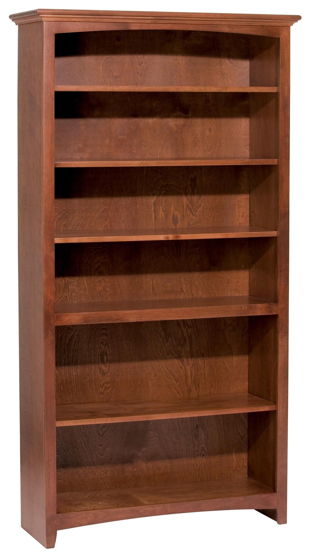 McKenzie Bookcase by Whittier Wood at Crowley Furniture & Mattress