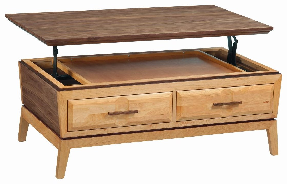 Addison Coffee Table by Whittier Wood at HomeWorld Furniture