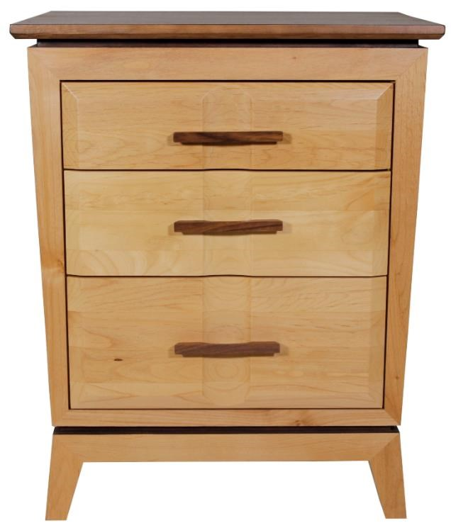 Addison Nightstand by Whittier Wood at HomeWorld Furniture
