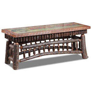 "48"" ""Bear Lake"" Bench with Molesworth Trim"