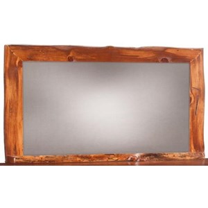 Mule Chest Mirror with Wild Edge